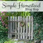 Simple Homestead Blog Hop #180