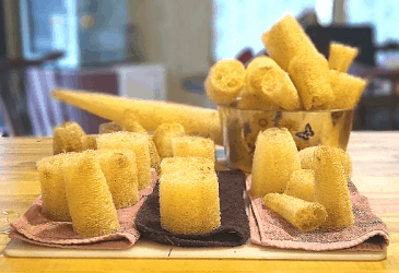 Harvest Luffa Sponges:  How to and When to Harvest
