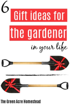 gift ideas for the gardener