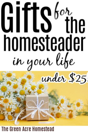 gifts for the homesteader
