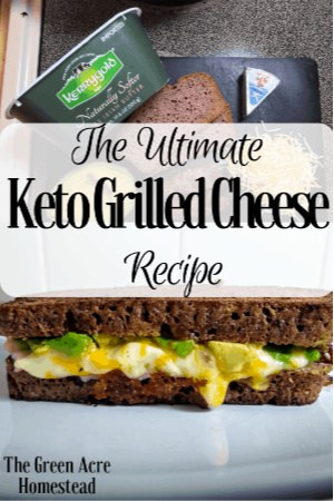 keto grilled cheese recipe