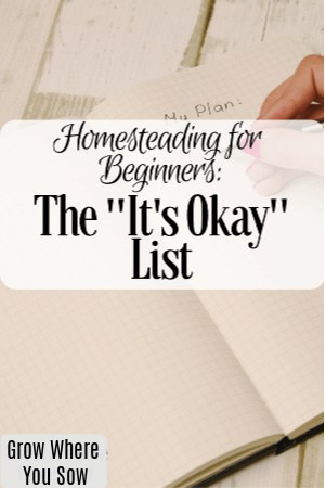 the it's okay list