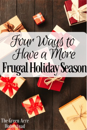 frugal holiday season