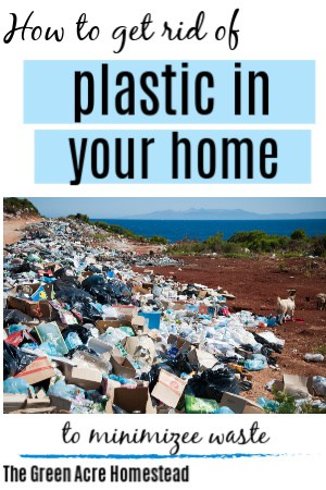 how to get rid of plastics in your home