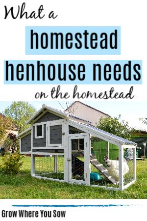 what a henhouse needs
