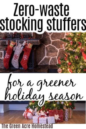 zero waste stocking stuffers