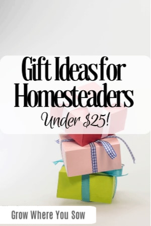 gift ideas for homesteaders