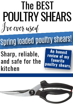 poultry shears review