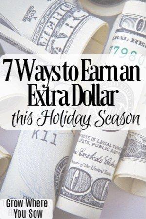 earn an extra dollar