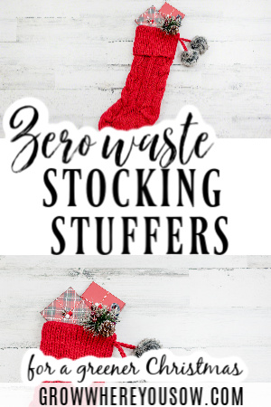 zero waste stocking stuffers