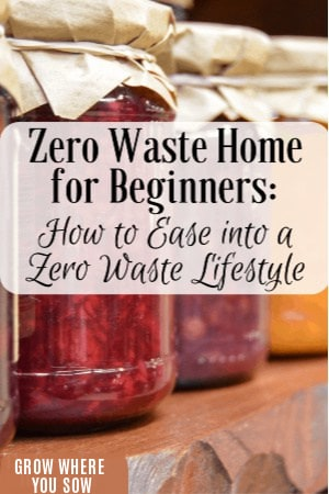 zero waste home for beginners