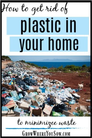 get rid of plastic in your home