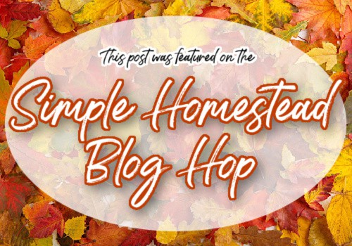 fall leaves simple homestead blog hop