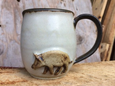 handmade farm house mug etsy