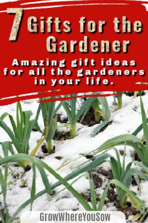 7 gifts for the gardener